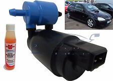 Front & Rear Windscreen Washer Pump Vauxhall Corsa 3 Door 00>05 + Screen Wash