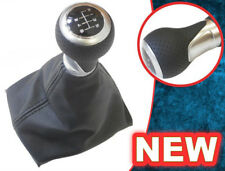GEAR STICK SHIFT KNOB + GAITER GAITOR BOOT + FRAME FOR AUDI A4 S4 B8 8K S-LINE