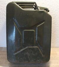 Diesel Benzin Kraftstoff Kanister Blech Metallkanister 20L aus Metall