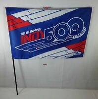 2017 Indianapolis 500 101ST Running Presented by PennGrade Motor Oil Stick Flag