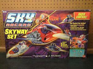 Cap Toys SKY RACERS SKYWAY SET Radio Controlled w/ lights 6200 NIB sealed