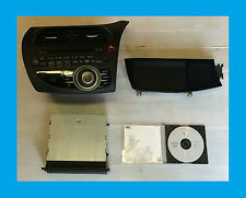 HONDA CIVIC MK 8 (2006) SAT NAV HEAD UNIT SCREEN DISPLAY DVD PLAYER MAP DVD DISC