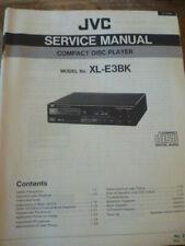 JVC XL-E3BK Compact Disc Player Service Manual