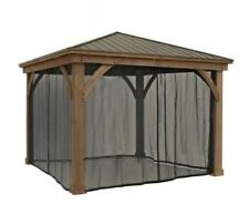 Yardistry Mosquito Screen Kit For 12x12 Or 12x14 Gazebo, NEW SHIPS FROM FACTORY