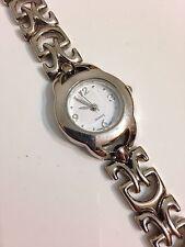 Ladies Silver Tone Working Quartz Watch