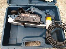Bosch GHO 31-82 Planer, 110v Corded, wood work joiner carpenter tool, in case.