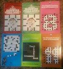 Crossword puzzle books lot