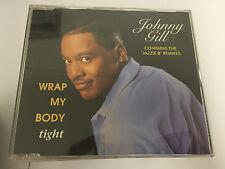 "JOHNNY GILL Wrap My Body Tight CD 4 Track 12"" Remake Version B/W 7"" Radio Edit"