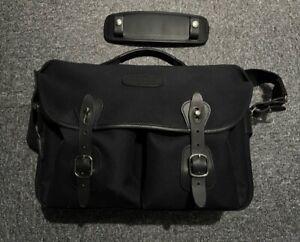 Billingham Hadley One Camera Bag in Black FibreNyte/Black Leather Plus Extras