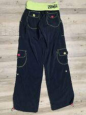 Zumba Fitness Workout Pants Women's Small Black Exercise Active Wear Bottoms Guc