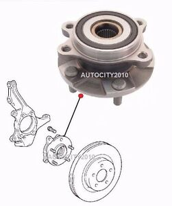 FOR TOYOTA ESTIMA 2.4i ACR50 ACR55 GSR55 FRONT L  OR R WHEEL HUB BEARING 08 >ON