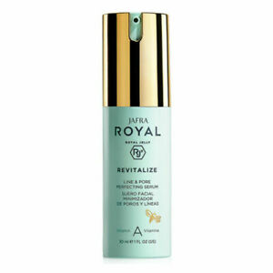 Jafra Royal Jelly Revitalize Line & Pore Perfecting Serum Vitamin A 1 fl oz