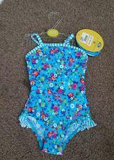 Animal Print One-Piece Swimwear (0-24 Months) for Girls