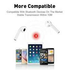 i11 TWS Bluetooth 5.0 Wireless Headphones Smart Touch Control  Earbuds - White