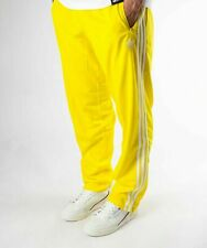 NEW MEN'S ADIDAS ORIGINALS FIREBIRD TRACK PANTS ~ SIZE MEDIUM  #ED7014 YELLOW