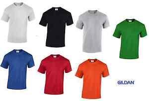Workwear Heavy T-Shirt Arbeitsshirt, Gildan, 185 g/qm, in 7 Farben, Größen S-5XL