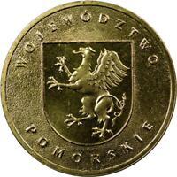 POLAND - 2 ZLOTE - 2004 - UNC - POMORSKIE PROVINCE