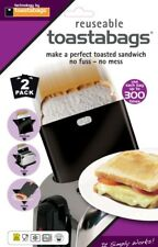 2 X Toastabags Non Stick Toaster Bags Reusable up to 300 Times