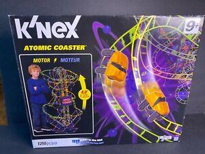 "K'necx Atomic Coaster 1200+ pieces Motor 4"" Tall Building Stem Toy Engineering"
