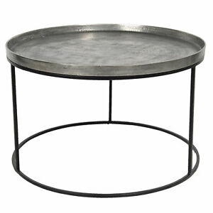 Ein Side Table from Aluminum IN Silver 1705003.3oz