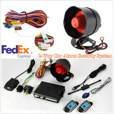New listing 2-Way Car Security Alarm Anti-theft System+Lcd Display Remote Controlers Us Ship