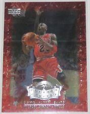 1999/00 Michael Jordan Upper Deck Legends Players of the Century Insert Card #P1