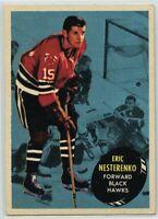 1961-62 Topps #28 Eric Nesterenko VG-EX - SET BREAK (112219-22)