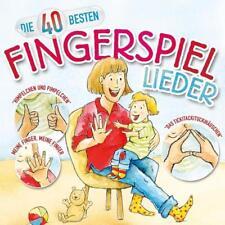 Die 40 Besten Fingerspiellieder von Katharina Blume,Christian König CD NEU!