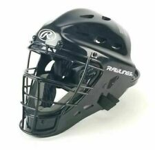 "Rawlings Catchers Mask Youth Black Size 6.5-7"" Adjustable Back Full New w/ Tags"