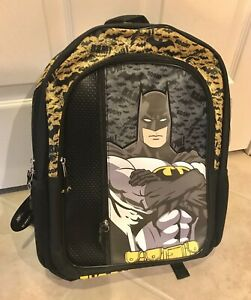 Batman The Dark Knight Backpack Book Bag  - NEW with tag