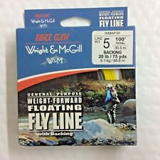 Wright & McGill General Purpose Weight-Forward Floating Fly Line - Wmwf5F - 100'