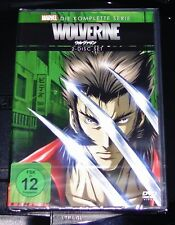 WOLVERINE LA SERIE COMPLETA MARVEL animated serie DVD NUEVO Y EMB. orig.