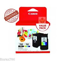 GENUINE CANON PIXMA PG740 & CL741 VALUE PACK INK CARTRIDGE MG2170 MG3170 MX377