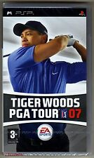 PSP Tiger Woods PGA Tour 07, UK Pal, Brand New & Sony Factory Sealed