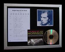 VAN MORRISON Bright Side Road QUALITY MUSIC CD FRAMED DISPLAY+FAST GLOBAL SHIP