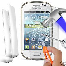 Twin Pack - Genuine Tempered Glass Screen Protector for Samsung Galaxy Fame