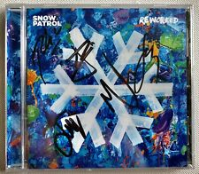 SNOW PATROL - REWORKED HAND SIGNED AUTOGRAPHED CD 2019 BRAND NEW SEALED