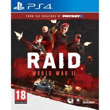 RAID World War II Ps4 PlayStation 4
