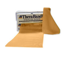TheraBand Professional Latex Resistance Band for Exercises - Gold