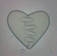 Flexible Resin Mold Heart in Stitches Mould Broken Heart Resin Supplies