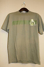 The Simpsons T-Shirt L - 1997 Bart with his tongue out Khaki color NEVER WORN
