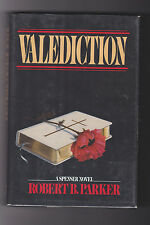ROBERT PARKER.VALEDICTION. IST.EDITION .HB/DJ.NICE COPY