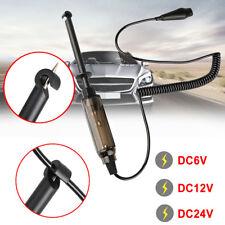 Auto Car Truck Voltage Circuit Tester 6V/12V/24V DC Hook Probe Test Light Pencil