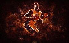 "041 La Lakers - Julius Randle NBA Basketball 22""x14"" Poster"