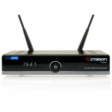 OCTAGON SF8008 4K UHD E2 Linux Twin DVB-S2X Digitial Satellite Receiver w/ WiFi