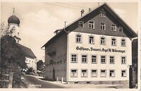 AK Rettenberg, Gasthaus und Brauerei zum Engel; gel. 1940