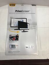 Fellowes 24''/609.6mm Privascreen With Total Blackout Side View - HOTT DEALS