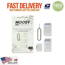USA! Genuine SIM Card Adapter 4-in-1 Nano to Micro Standard Converter Eject pin