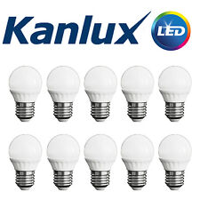 TRADE PACK x10 Kanlux Non Dimmable BILO 3W LED E27 Warm White Light Bulb Lamp
