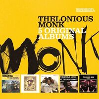 THELONIOUS MONK - 5 ORIGINAL ALBUMS 5 CD NEU